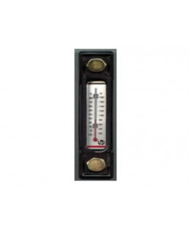 "Hydroline 10"" Level Gauge with Thermometer-LG2-10T"