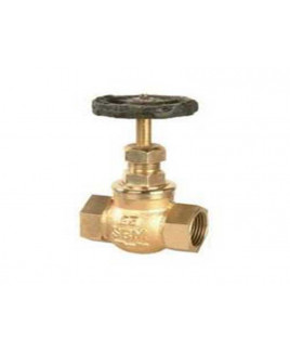 "SBM 3/8""  Bronze Globe Valve No. 4, IS-318 : 3/8"